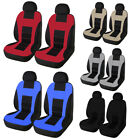 Complete Set Car Seat Cover Auto Front Rear Head Rests For Cars Truck Suv Van
