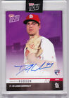 Dakota Hudson Cardinals Road To Opening Day Autograph 2019 Topps Now Auto 24 25
