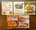 lot of 5 Weight Watchers cookbooks Take Out 365 Menu Make it in Minutes Simply
