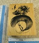 UNFOLDING FLOWERS MW RUBBER STAMP PENNY BLACK