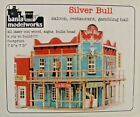 O SCALE On3 On30 BANTA MODEL WORKS 6142 SILVER BULL SALOON RESTAURANT LASER KIT
