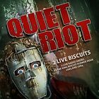 QUIET RIOT-2 LIVE BISCUITS (UK IMPORT) CD NEW