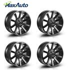 4PCS 20x9 Wheels 6x135 +12mm Matte Black 6 Lug Rims for Lincoln Mark LT 2006 08