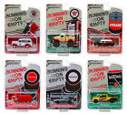 RUNNING ON EMPTY SERIES 8 SET OF 6 CARS 1 64 DIECAST MODELS BY GREENLIGHT 41080