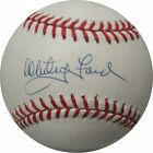 Whitey Ford Signed Autographed MLB Baseball New York Yankees JSA R67574