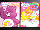 Care Bears 2 Colorful Fun Jumbo Coloring  Activity Books Tear Out Pages New