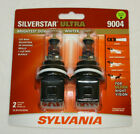 NEW Sylvania Silverstar ULTRA 9004 Pair Set High Performance Headlight 2 Bulbs