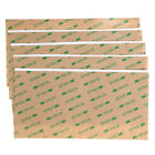 10Sheet 3M 300LSE 4x8 Double Sided Adhesive Sheet Transparent Tape Sticker