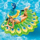 Intex 57250EP Peacock Inflatable Swimming Pool Island Float Lounger Raft