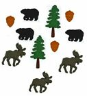 Jesse James Buttons Dress It Up THE GREAT OUTDOORS Wilderness Moose Bear Sew