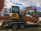 Gehl 45 Mini Excavator with thumb, cab a/c and heat- pre emissions!!