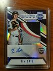 2018 USA stars and stripes Tim Cate patch auto rare 1 5 patch