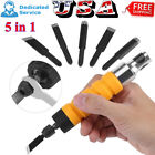 7x Electric Power Wood Chisel Carving Knife Tool Hammer Handle Chuck Attachment
