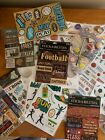 HUGE Lot of stickers embellishments SPORTS for crafts scrapbookingmostly new