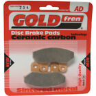 Front Disc Brake Pads for SYM Joyride 200 2007 200cc  By GOLDfren