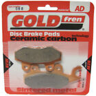 Front Disc Brake Pads for Kymco Super 9 50 2002 50cc (A/C) By GOLDfren