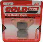 Front Disc Brake Pads for Adly Silver Fox 50 2006 50cc  By GOLDfren