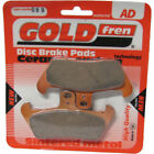 Front Disc Brake Pads for Cagiva Freccia C10 1991 125cc  By GOLDfren