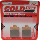 Rear Disc Brake Pads for Gilera Runner PureJet 50 2004 50cc  By GOLDfren