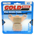Front Disc Brake Pads for Adly NB 50 Noble 2010 50cc  By GOLDfren