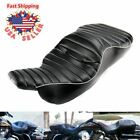 Ultra Classic Black Two UP Seat For Harley FLHT Electra Glide Standard 1997 2006