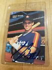 1991 MOTHER'S COOKIES CRAIG BIGGIO AUTOGRAPH CARD !!! NEAR MINT HALL OF FAMER