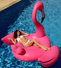 Giant Flamingo Pool Float 78in Inflatable Raft Ride On Swimming Summer Sea