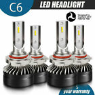 9005 9006 Combo LED Headlights High Low Beam Headlamp 6500K HID 120W 12000LM Kit
