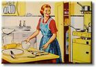 Retro Kitchen Art Picture on Streched Canvas Wall Art Dcor Ready to Hang