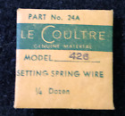 Genuine LeCoultre 426 Setting Spring Wire Part No 24A