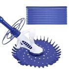 Automatic Swimming Pool Cleaner Set Clean Vacuum Inground Above Ground 10 Hoses