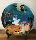 PEGGY KARR 11 HALLOWEEN BOWL BRIGHT COLORS LONG RETIRED PATTERN RARE