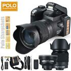 Po-lo Portable Digital Camera Camcorder 0.5X Wide Angle 24X Telephoto Lens Q7E0