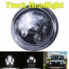 DOT 7inch Round LED Headlight Projector Hi Lo Beam For Jeep Wrangler JK LJ TJ