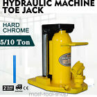 Hydraulic Machine Toe Jack Lift 5 10 TON Track 5 YEAR Warranty Jack Stands