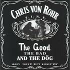 CHRIS VON ROHR (Krokus) - THE GOOD THE BAD AND THE DOG (1993) CD Jewel Case+GIFT