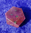 RED RUBY Crystal Point Polished Pendant Cab Cabochon Stone Corundum Six Sided