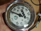 1965 Sears Allstate Puch Twingle 250 speedo speedometer gauge  cable  holder