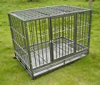 Hammigrid 42 Commercial Quality Heavy Duty Pet Dog Cage Crate Kennel wWheels