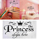 Princess Vinyl Wall Sticker Decal Kids Home Decor Baby Room Decoration Removable