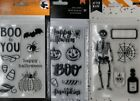 HALLOWEEN themed clear stamp sets American Crafts SO ADORABLE Quick Ship