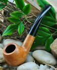 Savinelli GRADUATE Briar Tobacco Pipe - Bent Billiard with Lovely Natural Tones