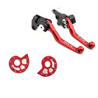 For SUZUKI DR-Z DRZ 400S/E 2000-2020 CNC Pivot Clutch Brake Lever