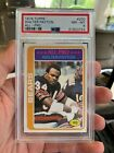 1978 Topps Walter Payton All-Pro Card #200 PSA NM-MT 8