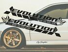2 Mitsubishi Lancer Evo Evolution Rs Gsr Mr Mivec Dohc Decal Car Sticker Banner