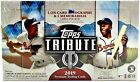 2019 Topps Tribute Baseball Hobby Box 3 Autos 3 Relics FREE PRIORITY SHIPPING