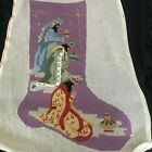 3 Kings Wisemen Nativity Completed 21 Needlepoint for Face of Stocking