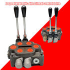 Hydraulic Control Valve 2 Spool Ractors Loaders Log Splitter3 4 NPT In Out Port