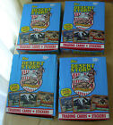 1991 Topps Desert Storm trading cards 3 boxes + a partial box of 24 pack