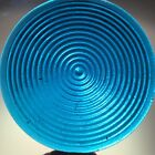 Stained Glass Jewel Sky Blue72mm Turquoise Blue Concentric Glass Jewel